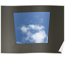 Skyspace by James Turrell (Yorkshire Sculpture Park) Poster
