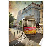 Enjoying Lisbon Poster