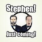 Adam and Joe: Stephen Card! 2 by StevePaulMyers