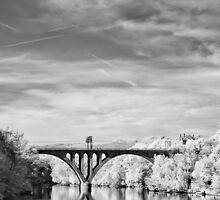 Bridge over river by A.Lwin Digital - Chasing the Inspiration
