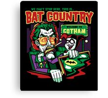 Harley's Bat Country Canvas Print