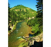 North Fork of The Boise River Photographic Print