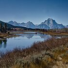 Oxbow Bend is Drying Up by Robert H Carney