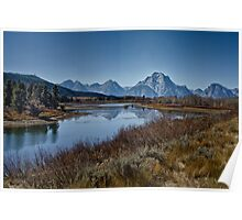 Oxbow Bend is Drying Up Poster