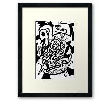 012 Framed Print
