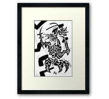 013 Framed Print