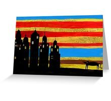 Beast and the spires Greeting Card