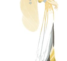 Tolkien Ladies stickers : Galadriel by cy-lindric