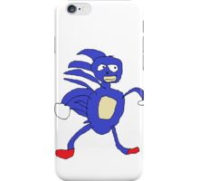 Sanic,Sonic The Hedgehog iPhone Case/Skin