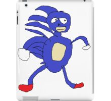 Sanic,Sonic The Hedgehog iPad Case/Skin