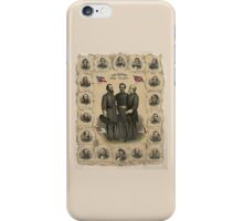 Confederate Generals of The Civil War iPhone Case/Skin