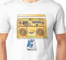 Retro Star Wars Boom box/Ghetto Blaster R2-D2 C-3PO Unisex T-Shirt
