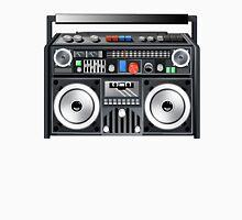 Retro Star Wars Boom box/Ghetto Blaster Darth Vader T-Shirt