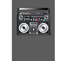 Retro Star Wars Boom box/Ghetto Blaster Darth Vader Photographic Print