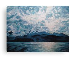 Variations_Blue Mountain No.1 Canvas Print