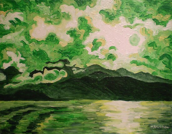 Green Mountain by Morgan Ralston