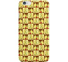 Fruit Turtle Checkered Pattern iPhone Case/Skin