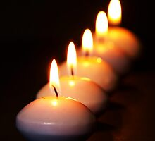 Five Candles in a Row by photoshot44