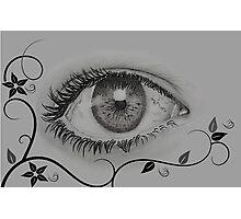 Having an eye on you2 Photographic Print