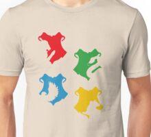 Hogwarts Crest & symbols (pattern) Unisex T-Shirt