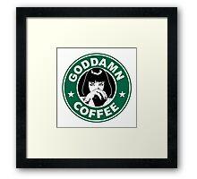 Starbucks Fiction Framed Print