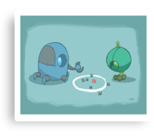 Robot Kids: Jacks Canvas Print