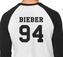 # Bieber 94 - Black Men's Baseball ¾ T-Shirt