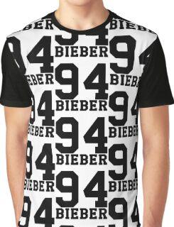 # Bieber 94 - Black Graphic T-Shirt
