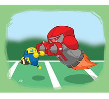 Robot Kids: Football by jeffpina78