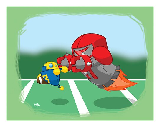 Robot Kids: Football by jeffpina78