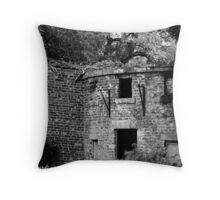 Abandoned Abode Throw Pillow