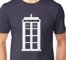 WHITE TARDIS Unisex T-Shirt