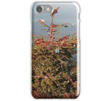Christmas Tree on Simonside Northumberland iPhone Case/Skin