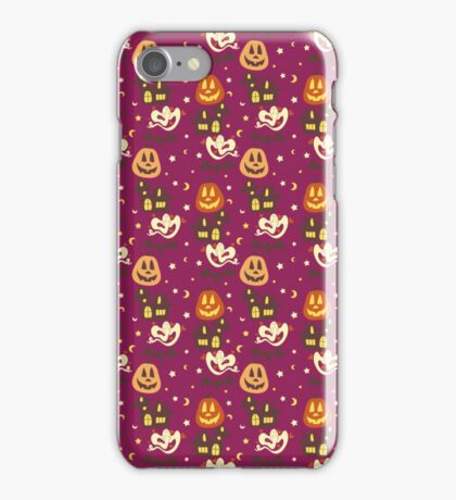 Colorful Halloween Pattern iPhone Case/Skin