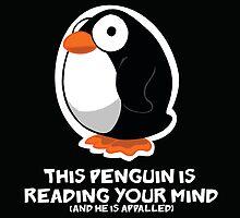 Telepathic Penguin by jeffpina78