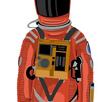 Dave from 2001: A Space Odyssey by Kiran Crampton