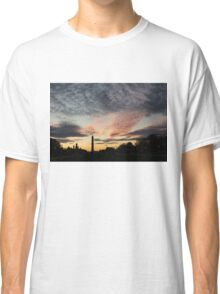 Mother Nature Painted the Sky Over Washington, DC Spectacular Classic T-Shirt