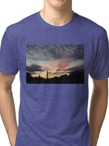 Mother Nature Painted the Sky Over Washington, DC Spectacular Tri-blend T-Shirt