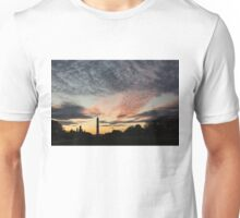 Mother Nature Painted the Sky Over Washington, DC Spectacular Unisex T-Shirt