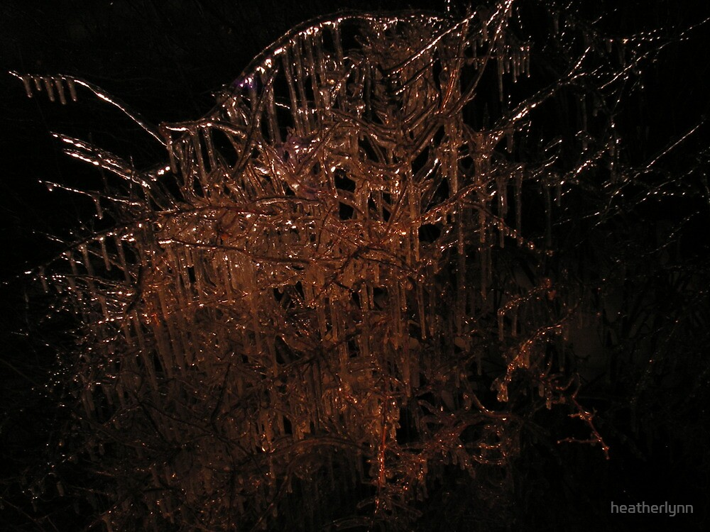 Ice Painted with Light by heatherlynn