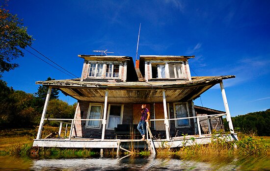 Self Portrait- Abandoned House by MJD Photography  Portraits and Abandoned Ruins
