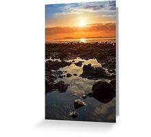 paradise at rocky beal beach Greeting Card