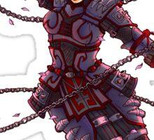 Black Widow- Ninja Style  Sticker