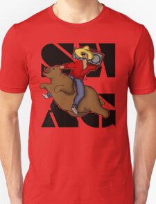 Kanye .. on a flying bear? T-Shirt