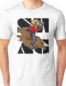 Kanye .. on a flying bear? T-Shirt