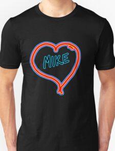 i love mike heart Unisex T-Shirt