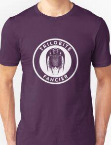 Trilobite Fancier (white on dark) T-Shirt