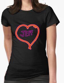 i love Jeff heart  T-Shirt