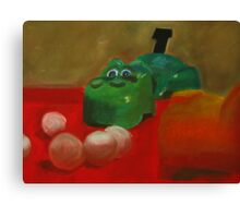 The Hungry Hippo Canvas Print