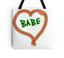 I LOVE babe heart  Tote Bag